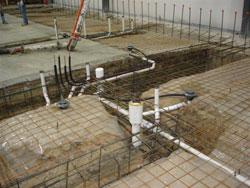 Underfloor Plumbing