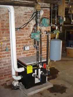 Installed Munchkin Boiler