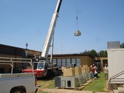 21 Trane Rooftop Units Installtion